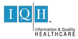 Information and Quality Healthcare